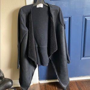 Velvet by Graham & Spencer black Sherpa jacket